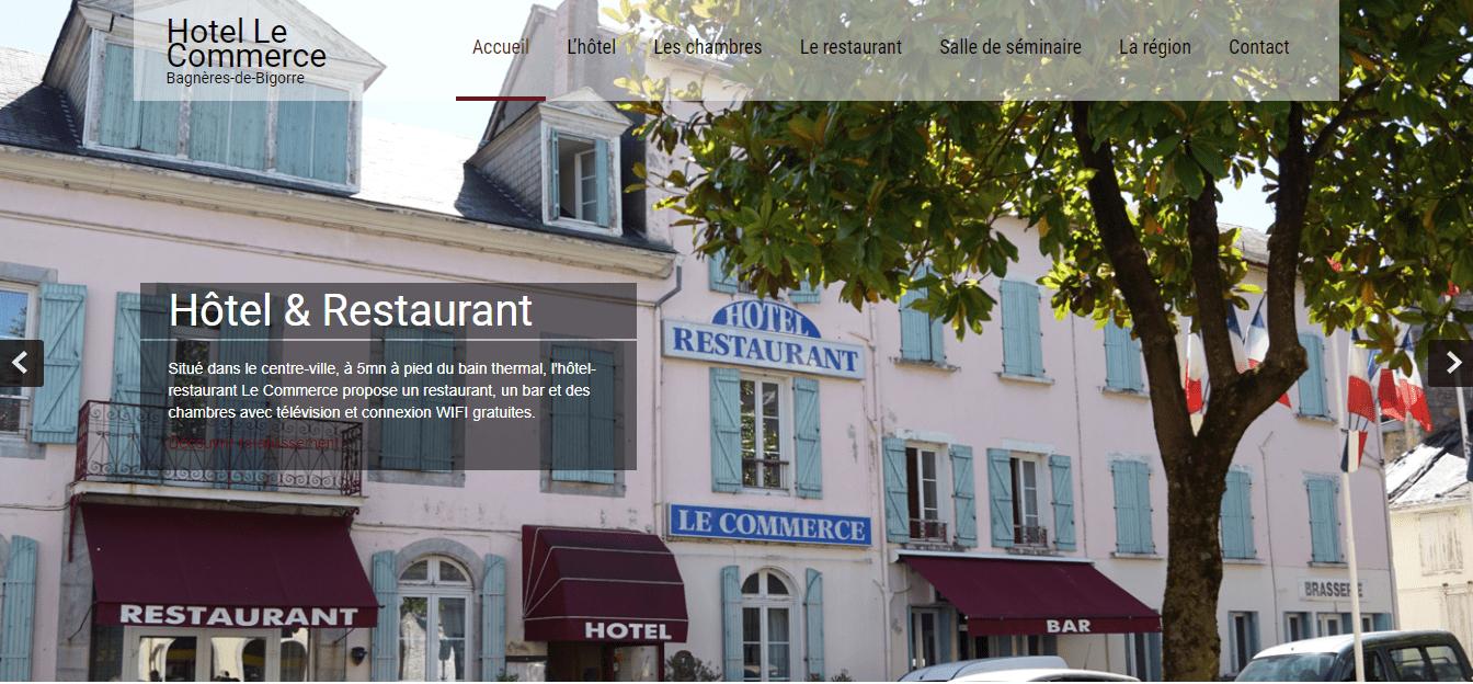 Hôtel le Commerce - Bagnères de Bigorre 1