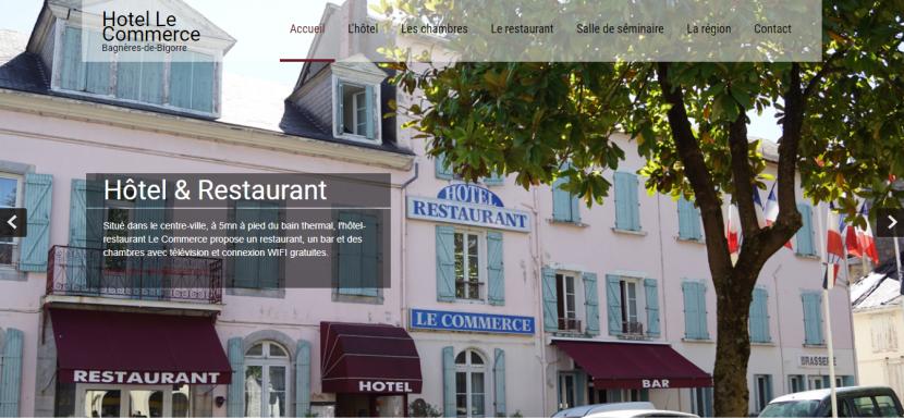 hotel le commerce-creation-wordpress-bordeaux